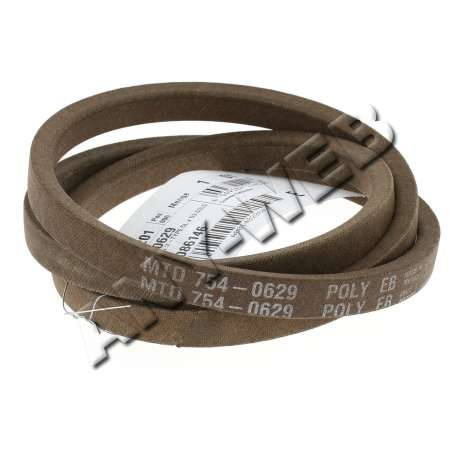 CHS MTD pièces détachées : Courroie Variateur/Boite / Référence: 754-0629