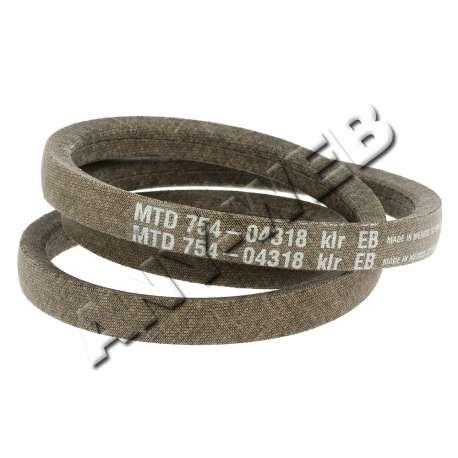 CHS MTD pièces détachées : Courroie de Lame / Référence: 754-04318